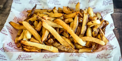 Arthur Bryant's french fries